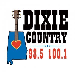 WDXX- Dixie Country- 100.1 FM