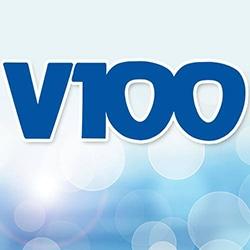 WVAF - V-100  99.9 FM