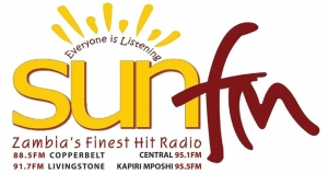 Sun FM Zambia - 88.5 FM