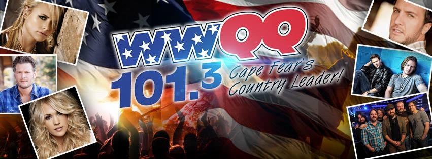 101.3 FM Wilmington North Carolina (NC) Radio